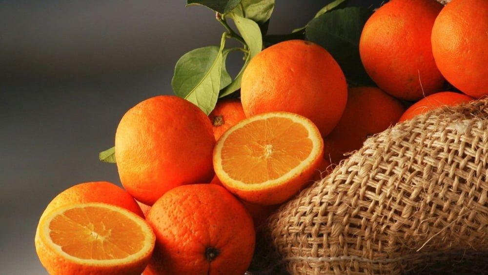 پرتقال اسلایس شده خشک